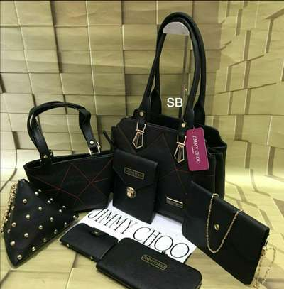 Jimmy Choo  7 Pcs Combo Handbag