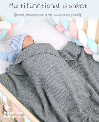 New Born Baby Multi Functional Blanket image 2