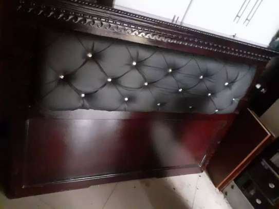 Wooden Bed (150 C.m)