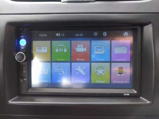 **Car Stereo system 7inch+ LED**