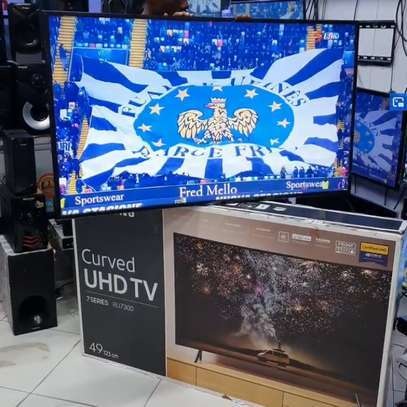 SAMSUNG SMART UHD CURVED 4K TV 49 INCH image 1
