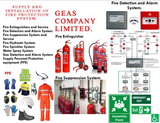 Fire Protection Equipment and Service