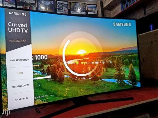 SAMSUNG SMART UHD CURVED 4K TV 55 INCH image 1