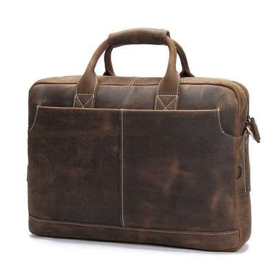 Lawyers Vintage  Leather Briefcase Bag
