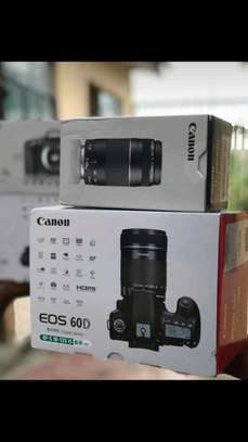 Canon 60d with 75-300mm lens brand new