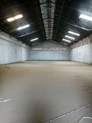 800 Square meter warehouse for rent at Chang'ombe