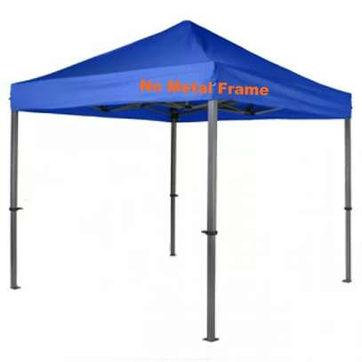 Outdoor Foldable  Top Roof Canopy Tents-Provide Shade Against Sunlight & Rain(Metal Frame Included) image 2