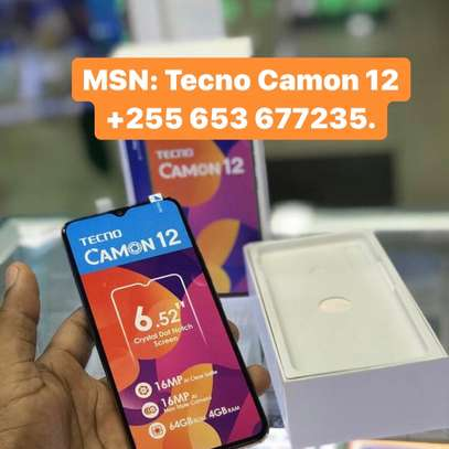 Tecno CAMON 12 GB64 BEI_punguzo (Full box)