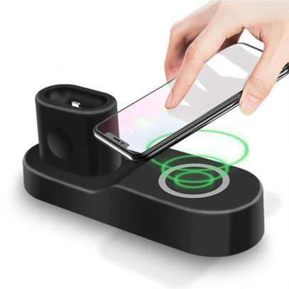 Wireless Phone Fast Charging Doc 4 in 1 image 1
