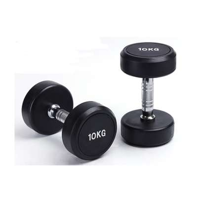 Fixed Ruber Dumbell image 1