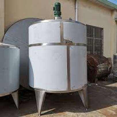 Stainless steel mixing tanks image 1