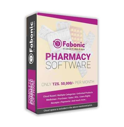 Pharmacy Software in Tanzania | Per month image 1