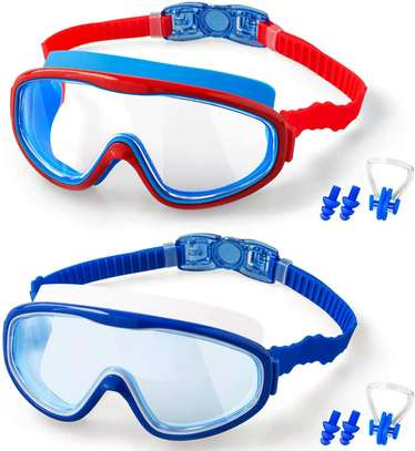 2-PACK Kids Swimming Goggles image 1