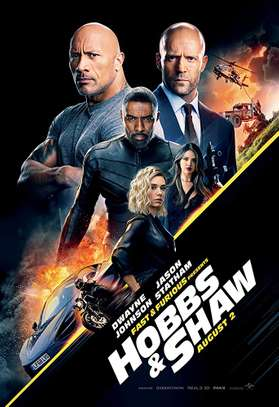 FAST & FURIOUS PRESENTS: HOBBS & SHAW 4K