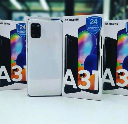 SAMSUNG Galaxy A31 GB 128 PATA offer➖( Cover & Delivery BureE ) image 3