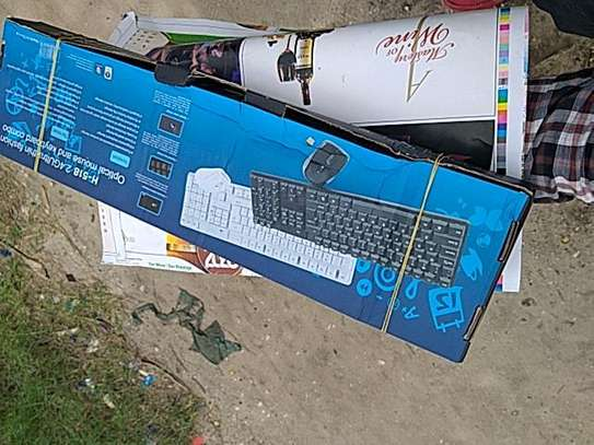 Quality wireless keyboard and mouse free Delivery dsm