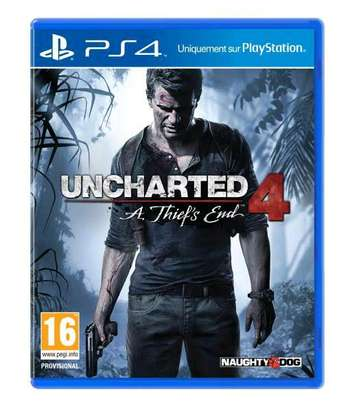 Uncharted 4 ps4 cd image 1