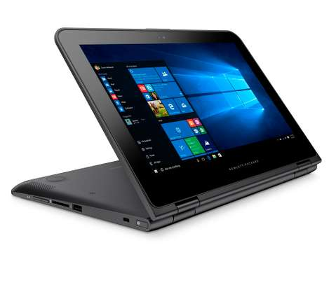 Hp Laptop x360 Convertible Touch Screen 128GB SSD - 4GB RAM image 2