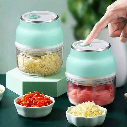 Rechargeable Mini Food Chopper/Cutter image 1
