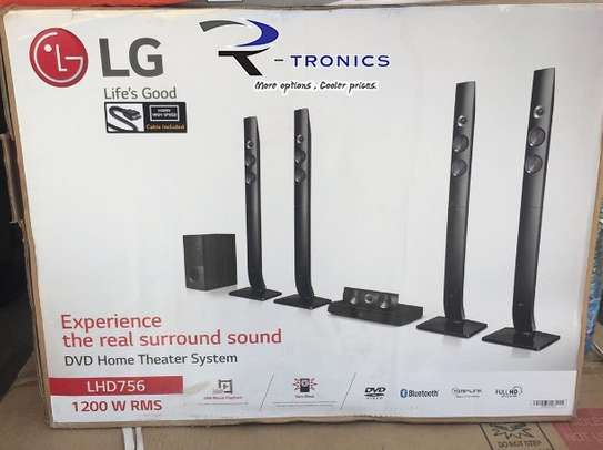 LG LHD756 Home Theater System (1200 Watts)