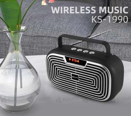Kisonli KS-1990 Bluetooth Loud speaker with strong antenna,