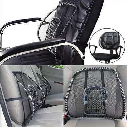 Car waist seat Lumbar for back support image 1