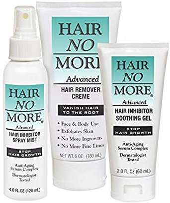Permanent hair removal creme