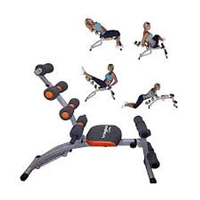 Home Gym Six Pack Exercise Bench image 4
