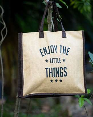 Enjoy The Little Things Nature Bags