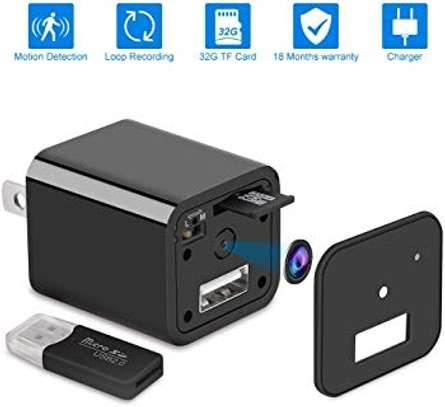 SURVEILLANCE: Smart USB Charger Spy Camera- 1080P HD
