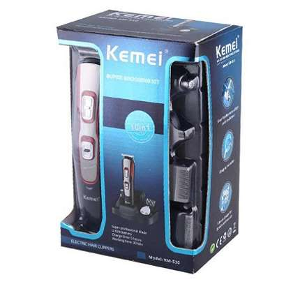 Kemei 10 in 1 super grooming kit KM-510 image 2
