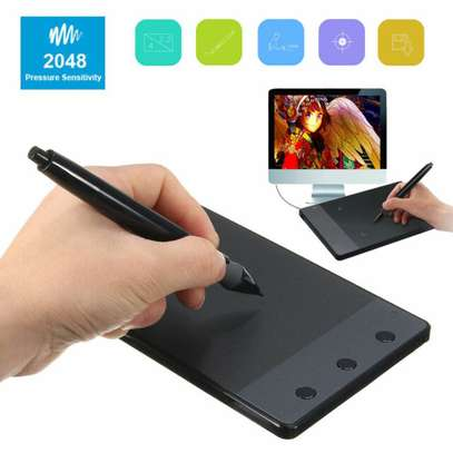 Huion 4 x 2.23 Inches Signature Pad with Digital Cordless Pen - H420
