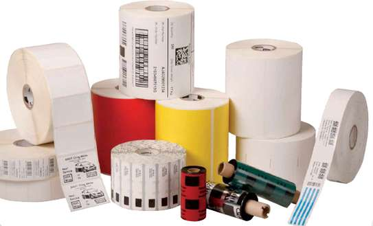 Direct Thermal Barcode Labels image 1