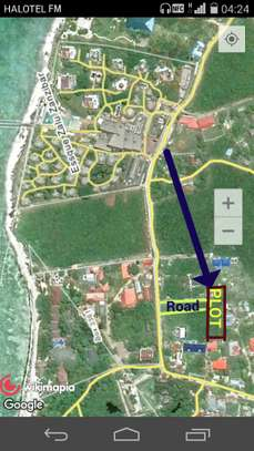 PLOT FOR SALE IN NUNGWI VILLAGE-ZANZIBAR ISLAND