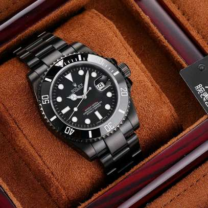 Automatic Black Fashion Rolex Master Watch