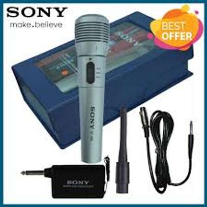 SONY WIRED & WIRELESS MICROPHONE image 1
