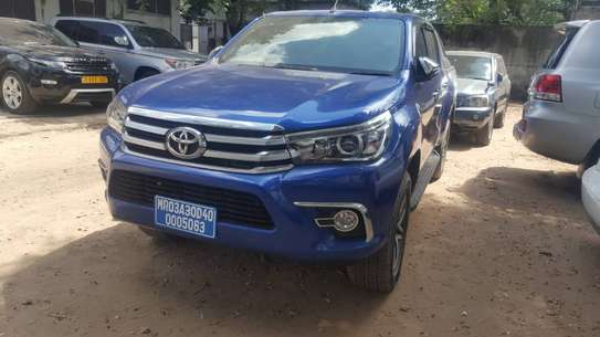 2018 Toyota Hilux Vigo Double Cabin Cheses Number image 2