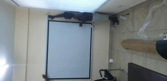 PROJECTOR SCREEN ELECTRIC BODY