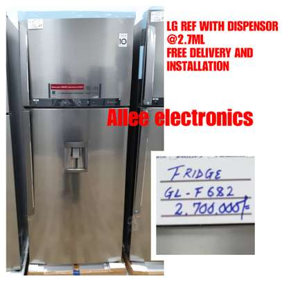 Lg refrigerator GL F682 with water dispensor image 1