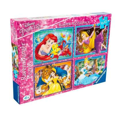 Disney Princess Jigsaw Puzzle 3 in 1