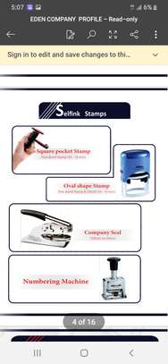 Ink and rubber stamps image 4