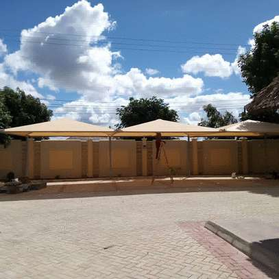Shade structure for Car Parking
