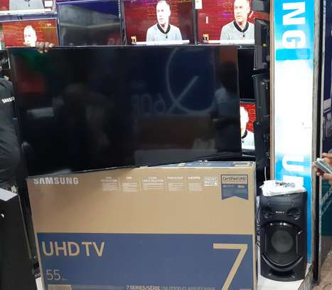 SAMSUNG UHD 4K SMART TV 55 INCHES
