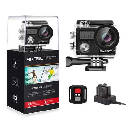 AKASO – AKASO Brave 4 4K 20MP WiFi Action Camera image 1