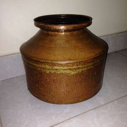 INDIAN TRADITIONAL COPPER POT image 1
