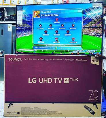 LG UHD 4K SMART TV 70 INCH image 1