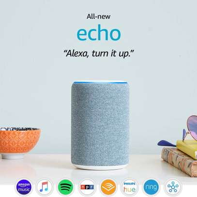 All-new Amazon Echo (3rd generation) | Smart speaker with Alexa