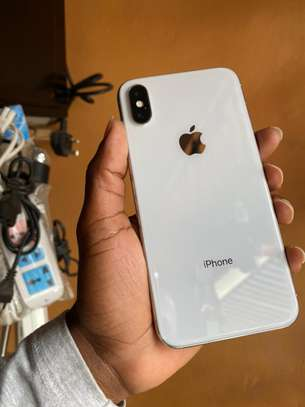 iPhone X 64GB Silver for sale image 2