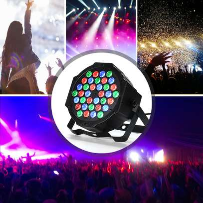 Colorful Disco Lights with remote & music control 4pcs image 7