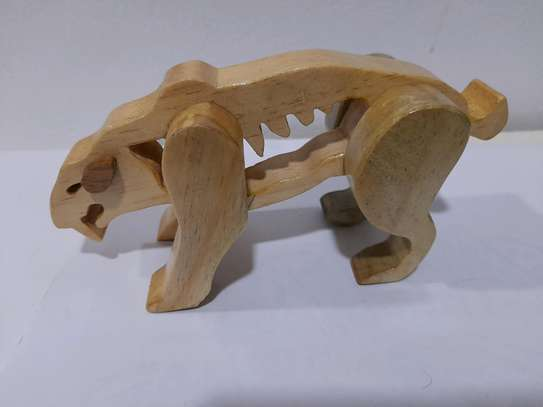 Wooden toy animal image 1